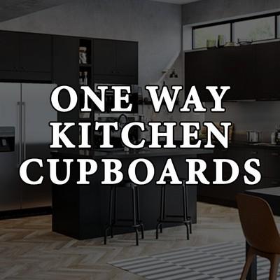 One Way Kitchen Cupboards