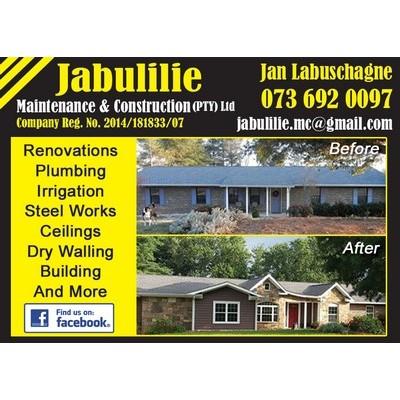 Jabulilie Maintenance & Construction